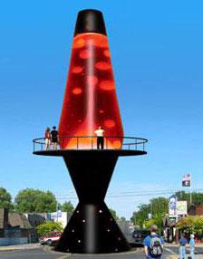 Worlds Largest Lava Lamp